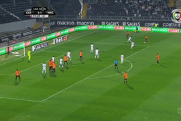V. Guimarães-Nacional: o golo que deu o empate aos madeirenses
