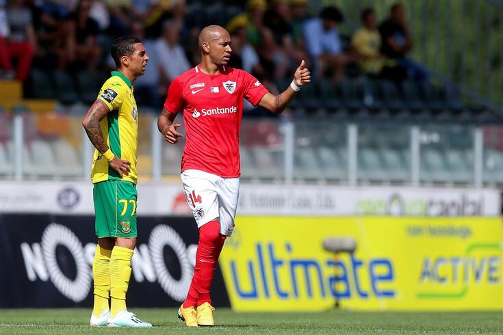 Thiago Santana marcou o único golo do jogo