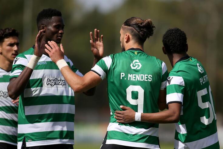 Sub-23 do Sporting terminaram a Liga Revelação no segundo lugar