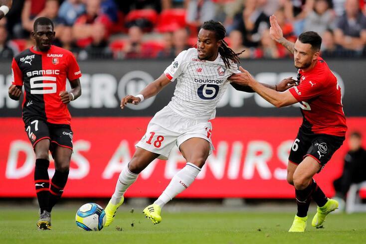 Renato Sanches, médio do Lille
