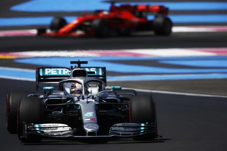 GP de França: Hamilton domina em nova 'dobradinha' Mercedes