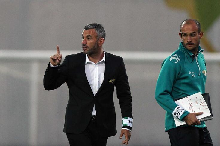 Ivo Vieira despediu-se do Moreirense com uma derrota frente ao V. Guimarães