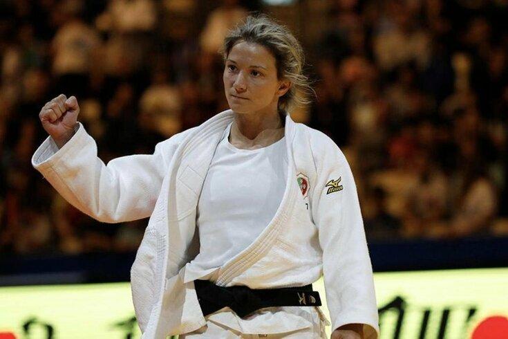 Telma Monteiro é a veterana do grupo