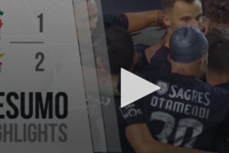 O triunfo do Benfica sobre o Marítimo contado em 60 segundos