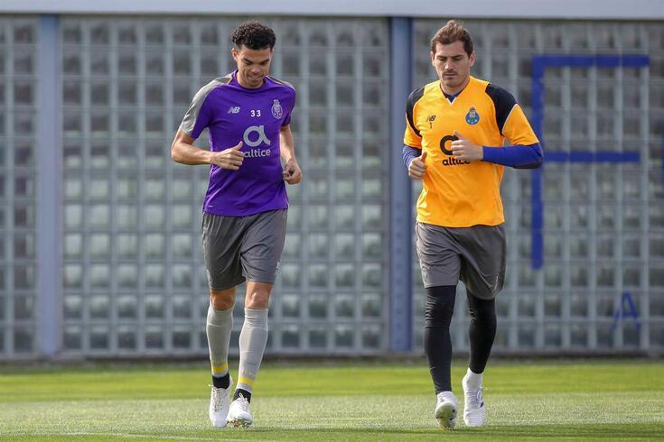 Pepe e Iker Casillas
