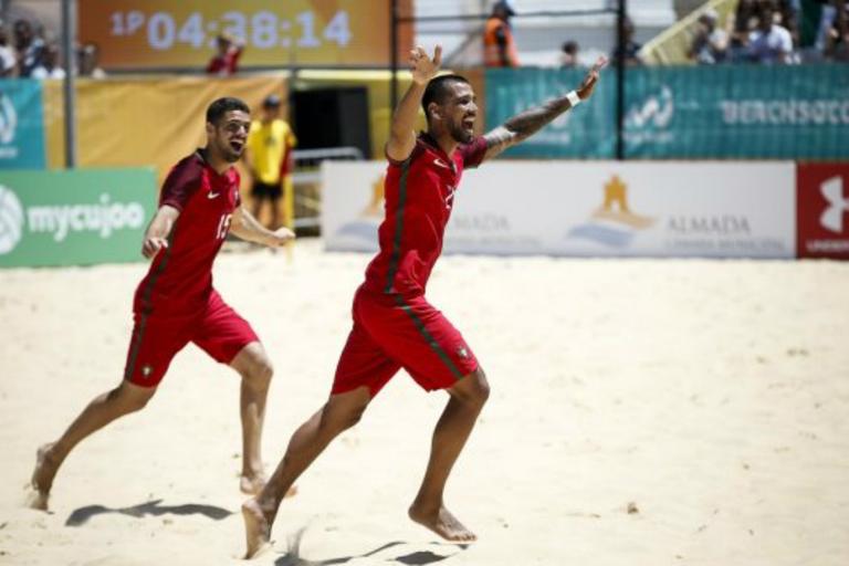 Mundialito  Portugal vence Japão e decide título com Espanha c1fe42003cb1a