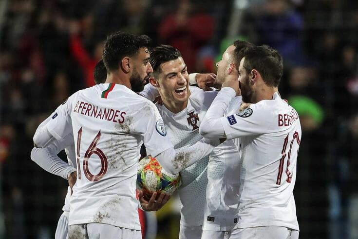 Portugal já sabe que não defronta Rússia e Dinamarca no Europeu de 2020