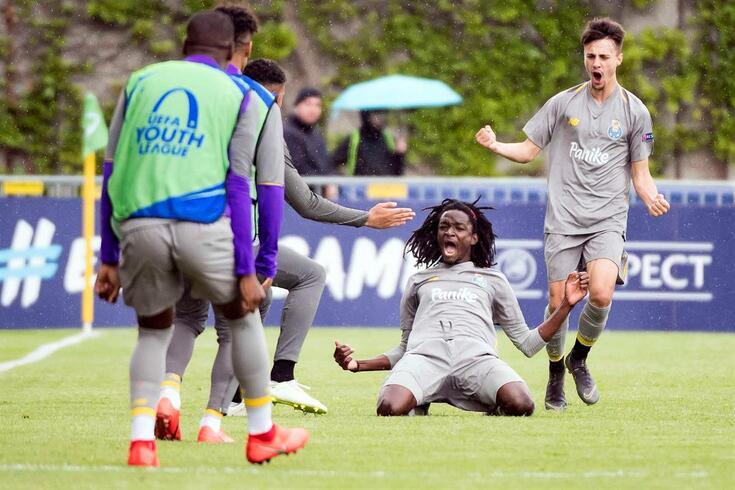 FC Porto bateu o Hoffenheim por 3-0 nas meias-finais da Youth League