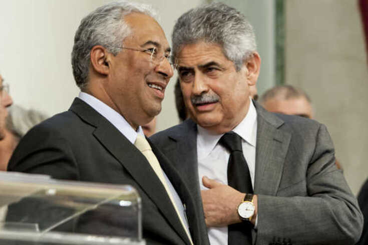 António Costa e Luís Filipe Vieira