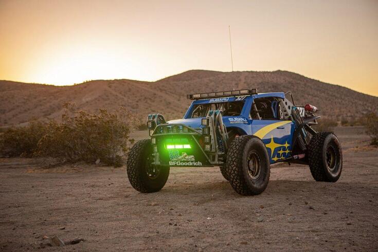 Buggy Subaru é o samurai do deserto mexicano
