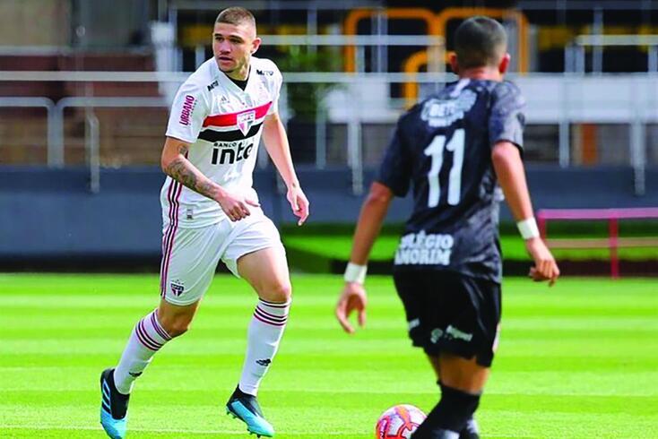 Morato, jovem central do São Paulo, interessa ao Benfica