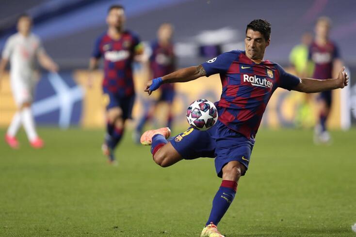 Luis Suárez não será reforço da Juventus