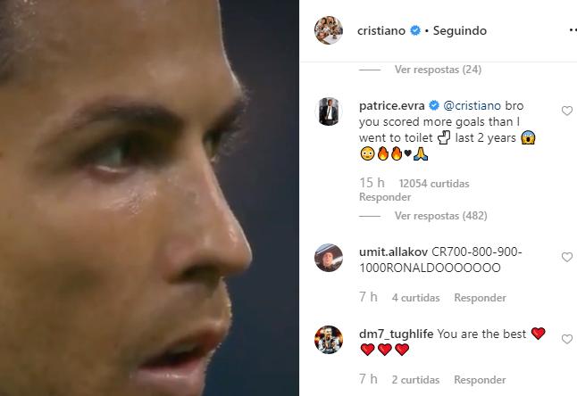 """""""Cristiano, marcaste mais golos nos últimos dois anos do que as vezes em que fui à casa de banho"""""""