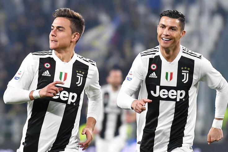 Ronaldo e Dybala têm feito parelha na frente de ataque da Juventus
