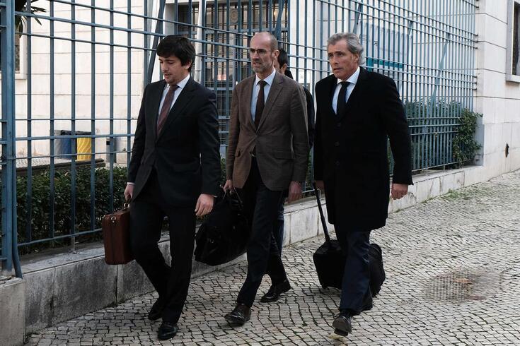 João Medeiros (à direita)
