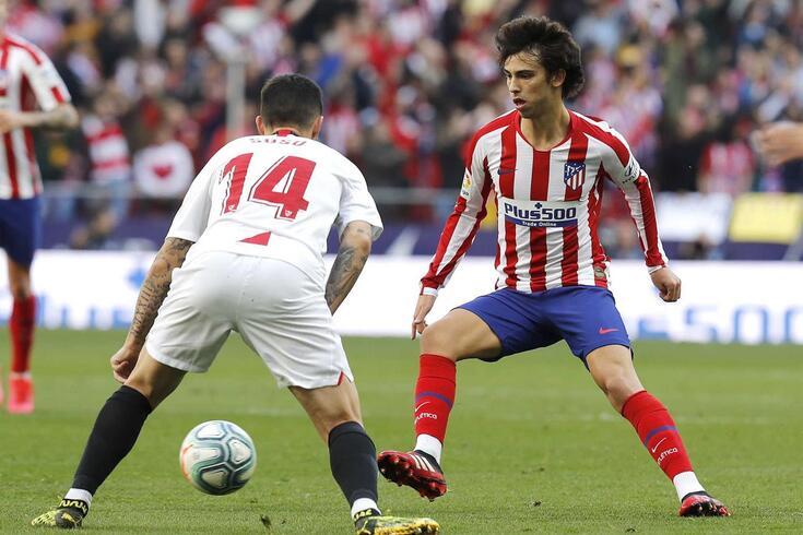 João Félix assinou pelo Atlético no último verão, a troco de 126 milhões de euros