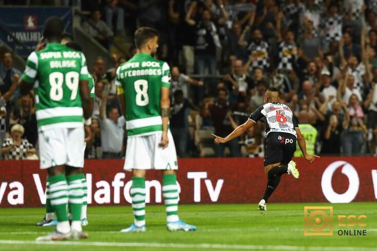 Marlon marcou o melhor golo da quinta jornada da I Liga