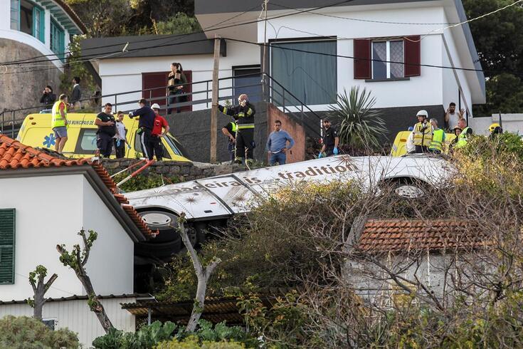 Pelo menos 28 pessoas perderam a vida no acidente