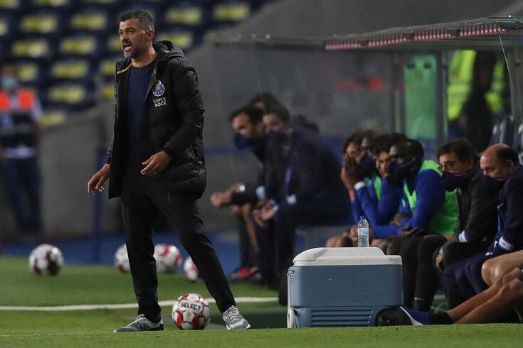 Sérgio Conceção, treinador do FC Porto