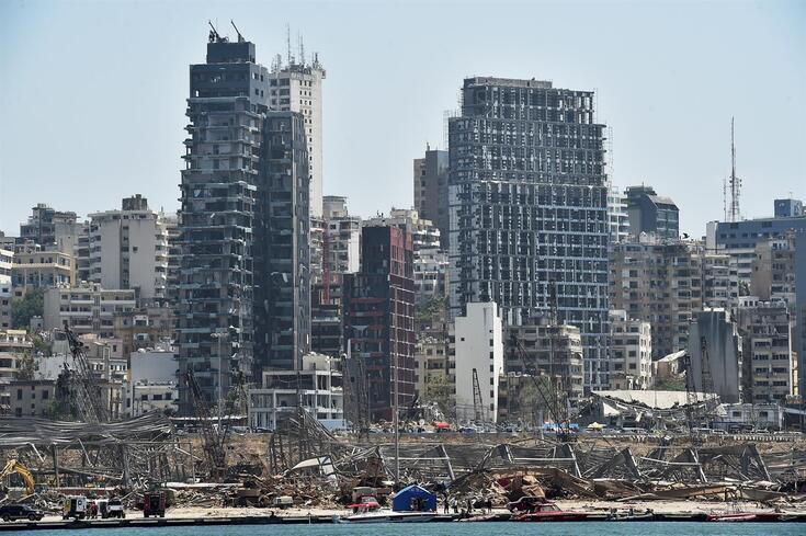 Beirute: última atualização aponta para perto de 160 mortos e mais de seis mil feridos