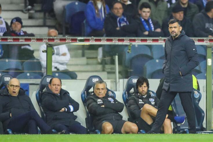 Sérgio Conceição, treinador do FC Porto.