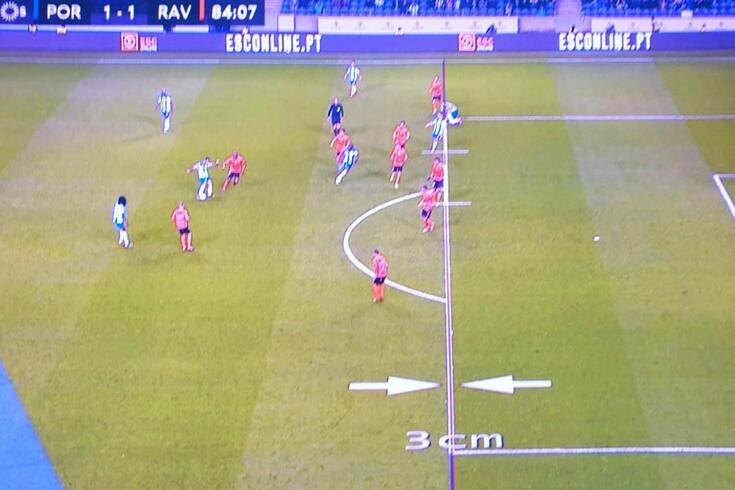 O lance do golo anulado ao FC Porto