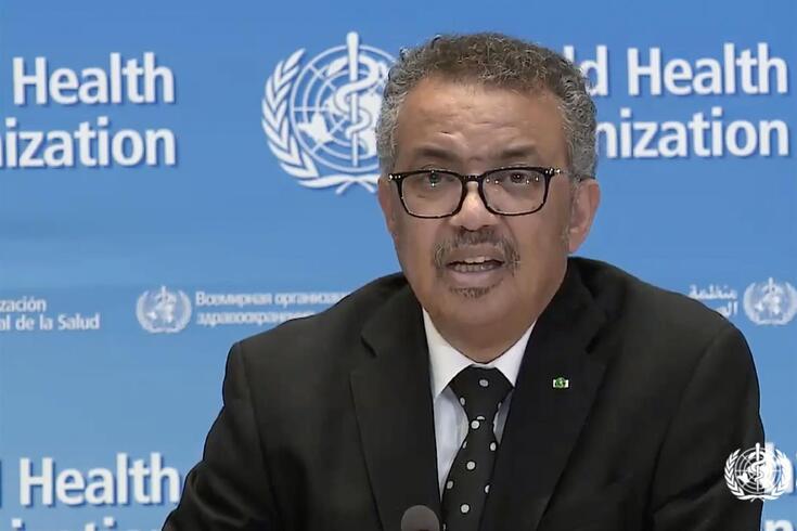 Tedros Adhanom Ghebreyesus, director-geral da OMS