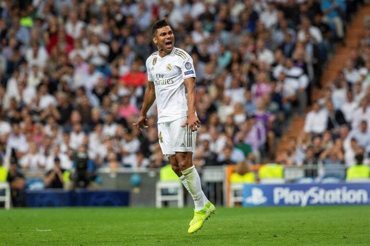 Casemiro, médio brasileiro do Real Madrid