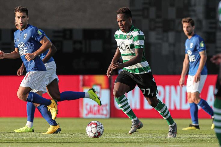 Jovane Cabral tem contrato com o Sporting até 2023
