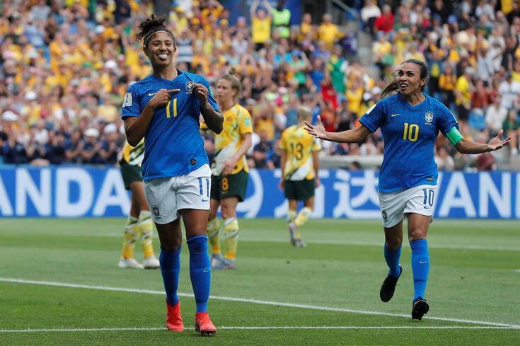 Cristiane, jogadora da seleção brasileira de futebol feminino