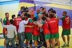 As imagens de um jogo histórico para o andebol português