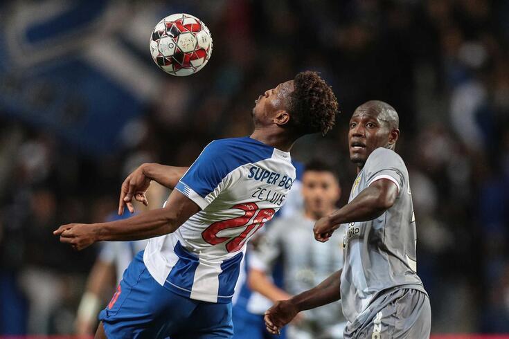 Zé Luis, avançado do FC Porto