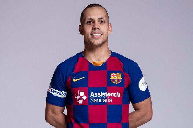 Ferrão, melhor jogador do Mundo de futsal