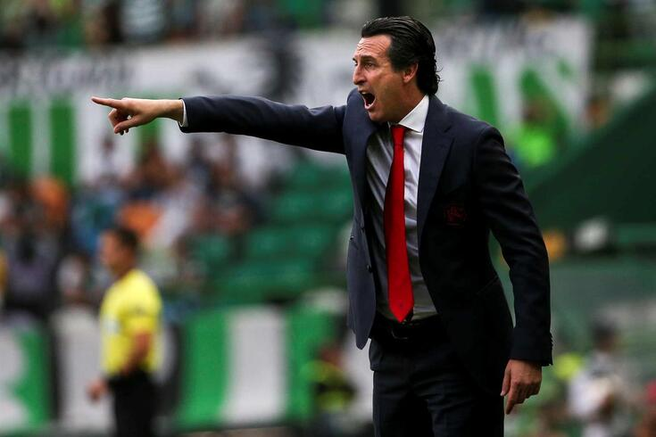 Unai Emery, ex-treinador do Arsenal, no topo das preferências de Vieira