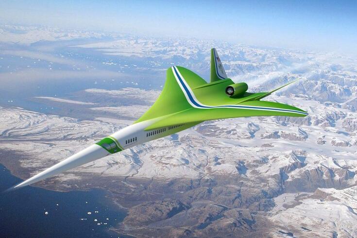 Avião supersónico de passageiros regressa com o herdeiro do Concorde
