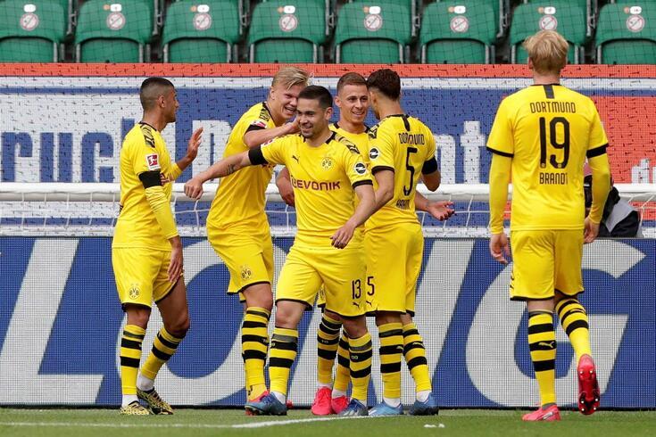 Dortmund voltou a vencer na Liga alemã
