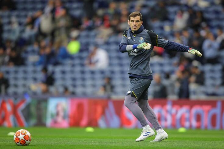Casillas representou o FC Porto