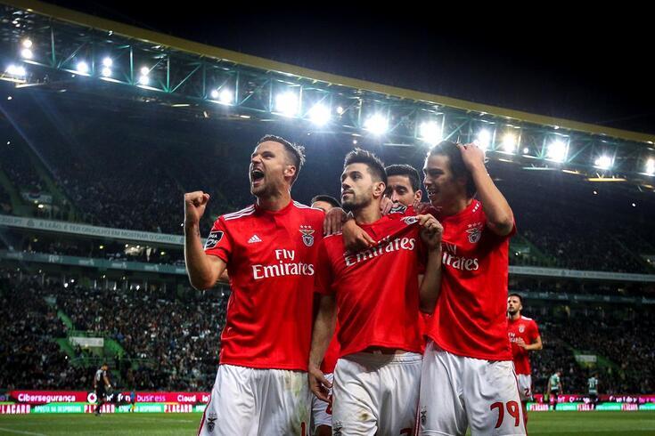 Quarteto de goleadores do Benfica sem rival na Europa