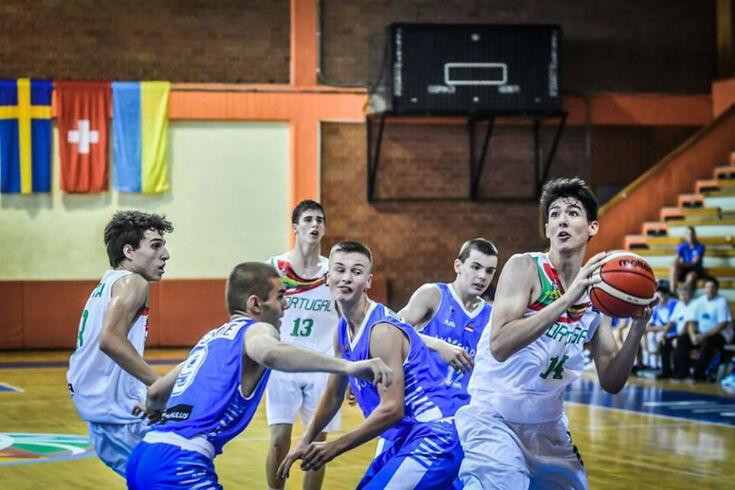 Portugal perde com Irlanda e falha quartos de final do Eurobasket masculino de sub-16