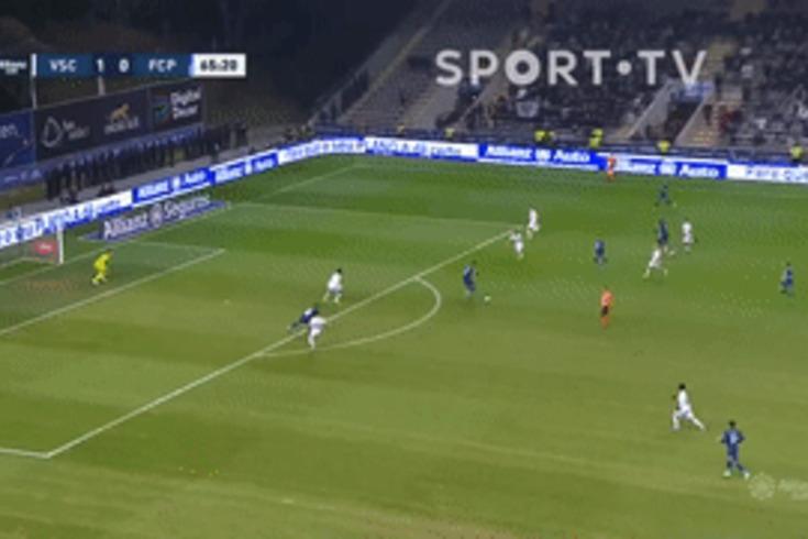 V. Guimarães-FC Porto: Alex Telles marca logo na resposta ao golo do Vitória