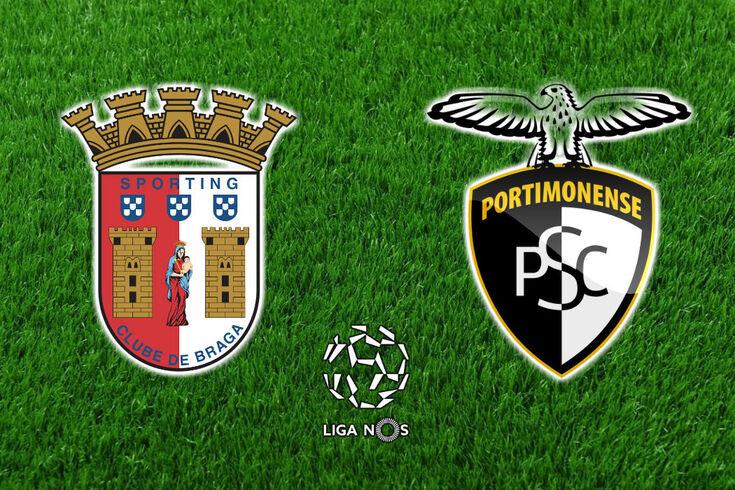 DIRETO | Braga-Portimonense