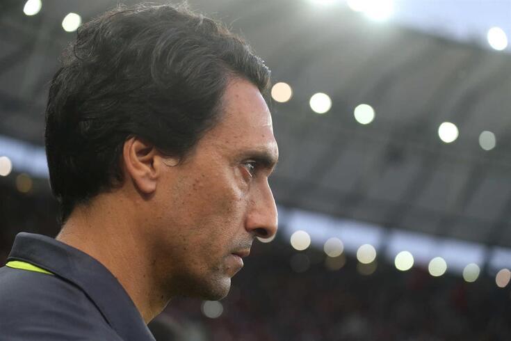 João de Deus, treinador adjunto do Flamengo.