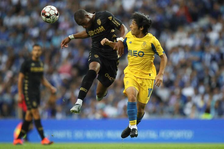 Sidibé ainda jogou frente ao FC Porto