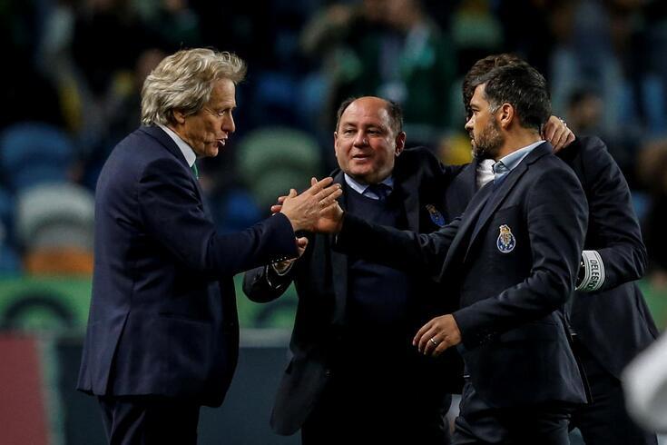 Lisboa, 18/04/2018 - O Sporting Clube de Portugal recebeu esta noite o Futebol Clube do Porto no estádio