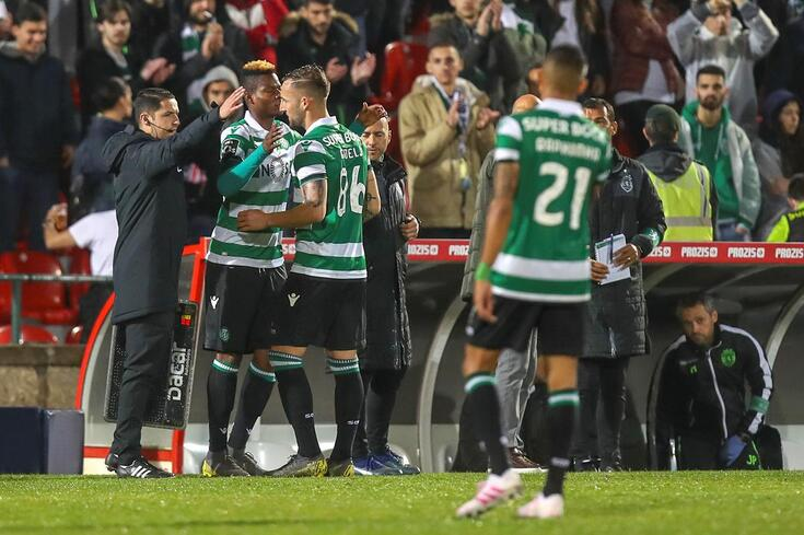 Doumbia procura a afirmação no meio-campo do Sporting