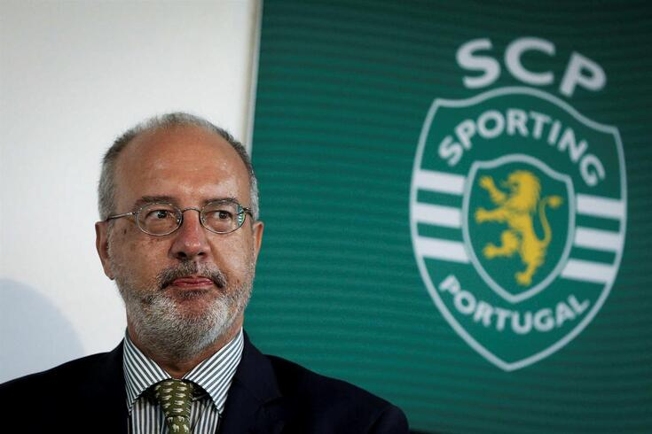 Rogério Alves, presidente da Mesa da AG do Sporting