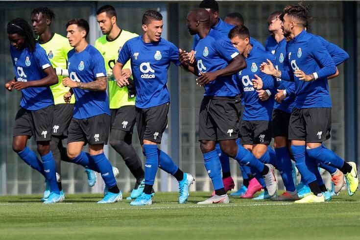FC Porto treinou no hotel antes de receber o Santa Clara