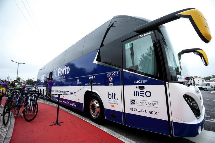 Arresto está resolvido e autocarro da W52-FC Porto já foi recuperado