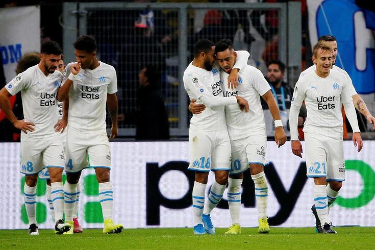 Payet marcou dois golos na vitória do Marselha sobre o Lyon.