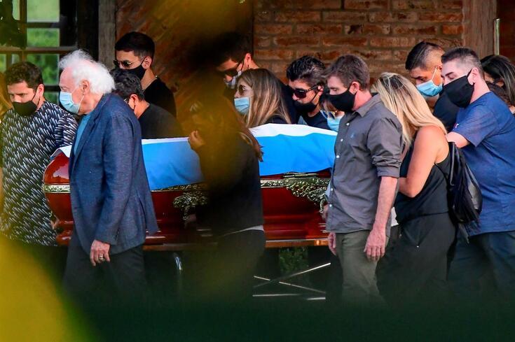 O último adeus a Maradona